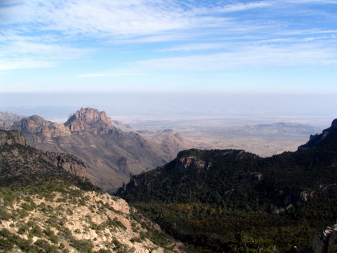View of the Chihuahuan Desert