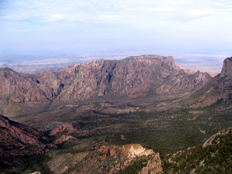 Campsite from Emory Peak